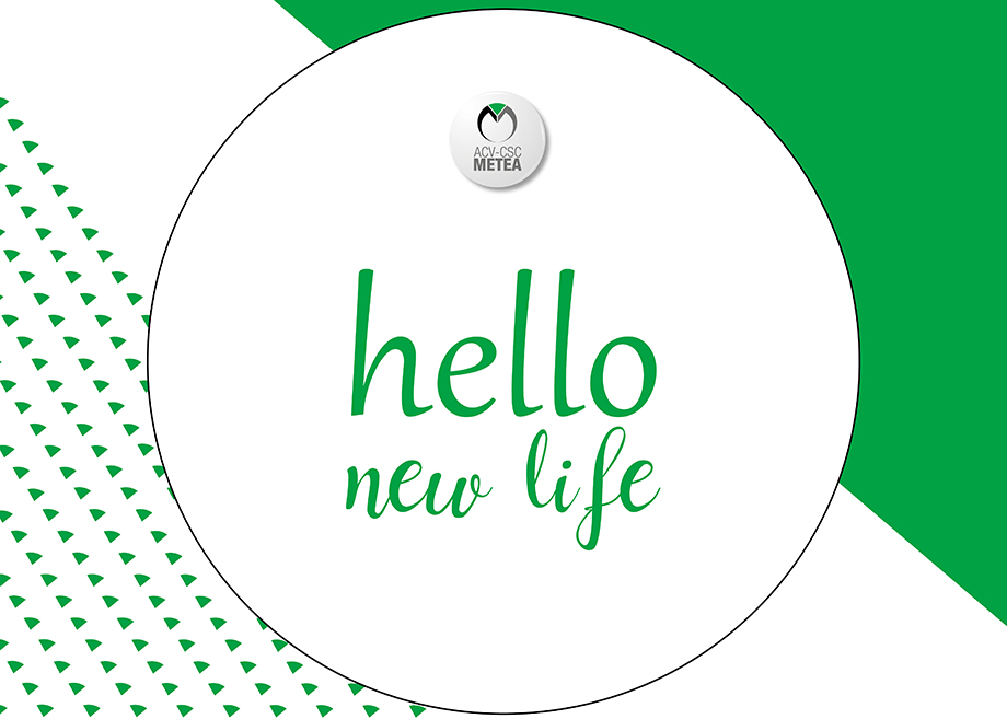 Hello new life - web